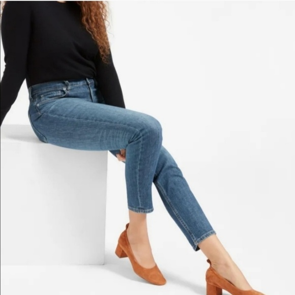 Everlane Denim - Everlane The High Rise Skinny Jean